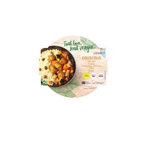 Couscous falafel vegetariano