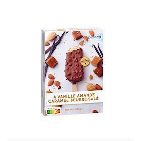 4 Best - gelato al caramello salato alla vaniglia e alle mandorle