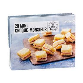 20 mini croque monsieur