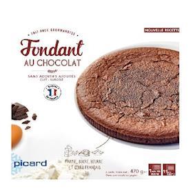 Torta fondant al cioccolato