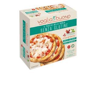 4 minipizze margherita senza glutine