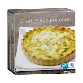 2 Tortine salate ai porri