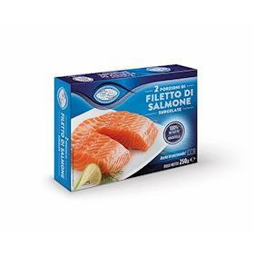2 porzioni di salmone