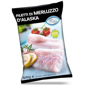 Filetto di merluzzo D'Alaska