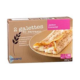 2 Gallette al grano saraceno con Prosciutto e Formaggio
