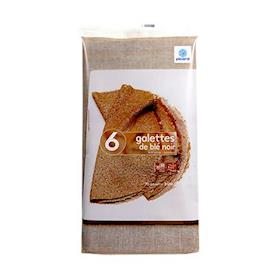 6 Gallette dal grano Saraceno
