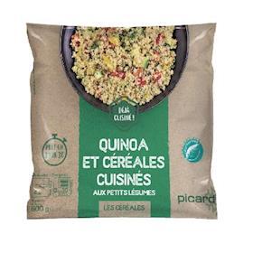 Insalata di quinoa e cereali con verdurine