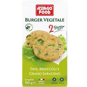 Burger Fave, Broccoli e Grano Saraceno