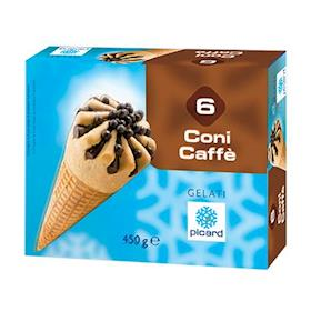 6 coni caffè