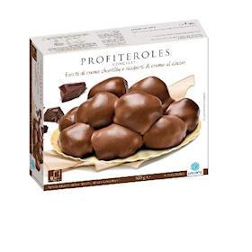 Profiteroles al cacao