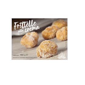 Frittelle di carnevale - ripiene di crema pasticcera