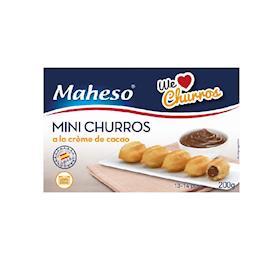 Mini churros al cacao