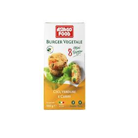 8 Buger di ceci, verdure e curry