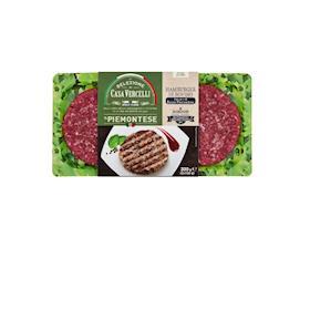 2 Hamburger di carne piemontese