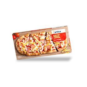 Pizza pala Wurstel e Patatine