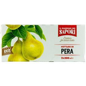 Succo e polpa di pera