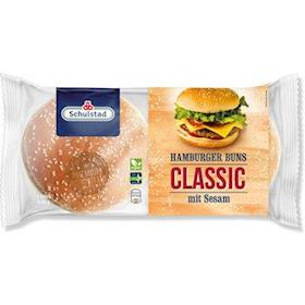 4 Panini al sesamo da hamburger