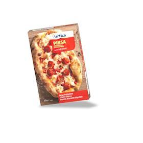 Pinsa romana mozzarella e pomodorini