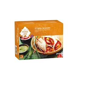 8 Fajitas al pollo