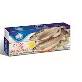 2 Trote iridee salmonate