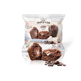 Muffin triplo cioccolato