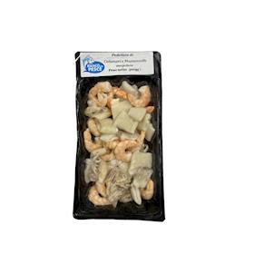 Padellata di calamari e mazzancolle