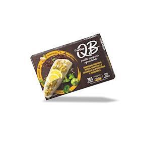 QB Branzino con riso rosso, broccoli e granella di pistacchio e mandorle