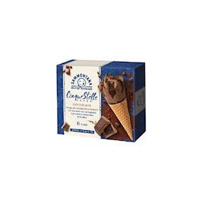 6 Coni 5 Stelle Cioccolato Modica